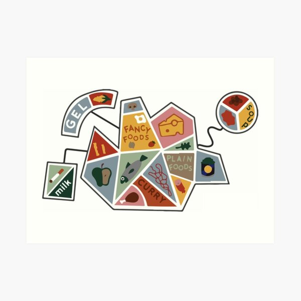 DHMIS - simple health shape  Art Print
