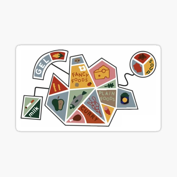 DHMIS - simple health shape  Sticker