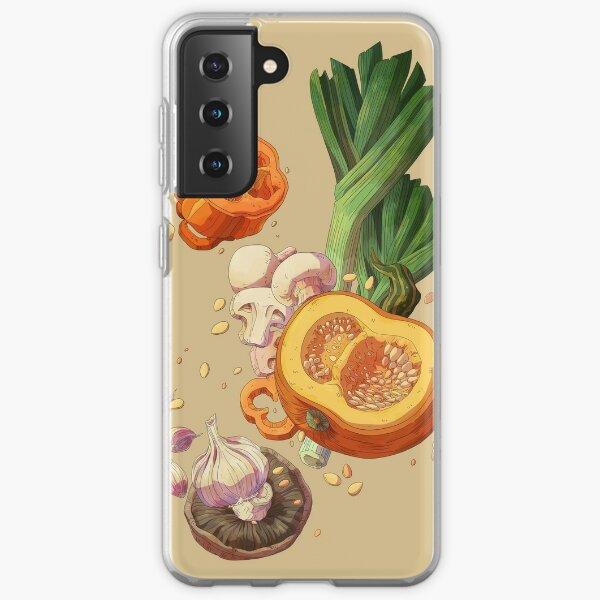 Veggies Samsung Galaxy Soft Case
