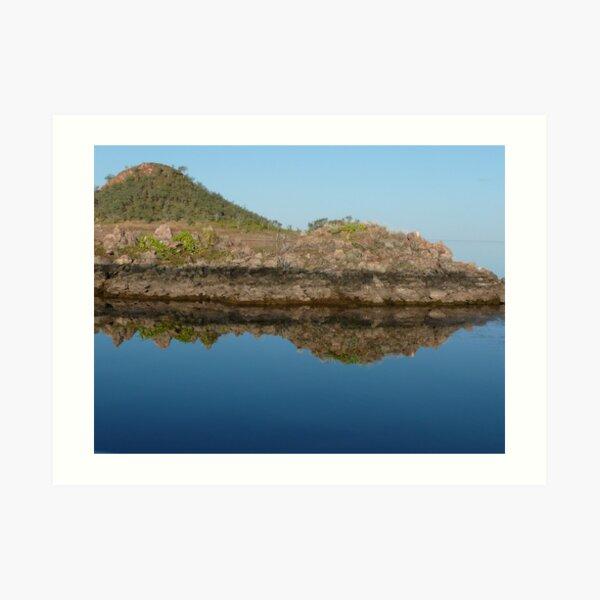 Lake Argyle Reflections 1 Art Print