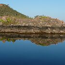 Lake Argyle Reflections 1 by Carollyn Rhodes-Thompson