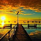 Single pier in color by Ray Yang