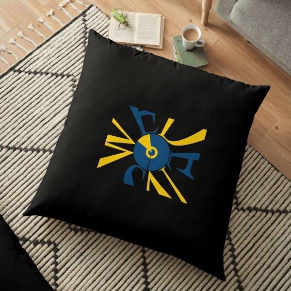 Sweden Flag - Art Design Floor Pillow