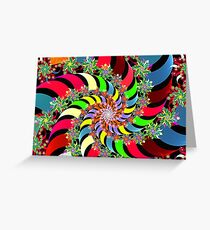 wind spinners Greeting Card
