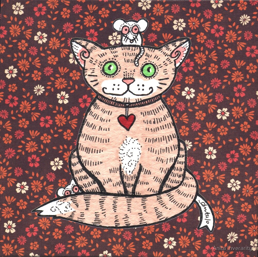 Cat n Mice by Anita Inverarity