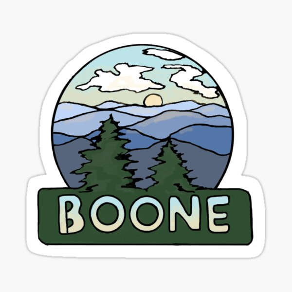 Boone and the Blue Ridge Sticker