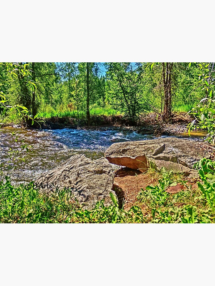 Roaring Fork River, Aspen No. 4 by 32DARTS
