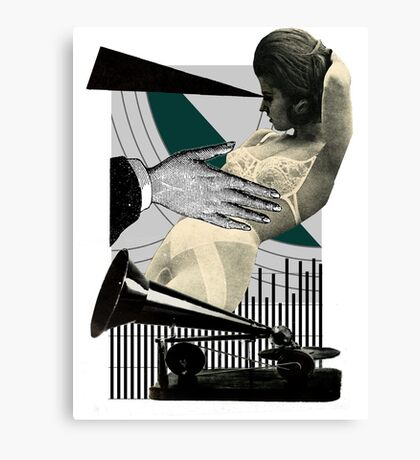 objection to objectification Canvas Print