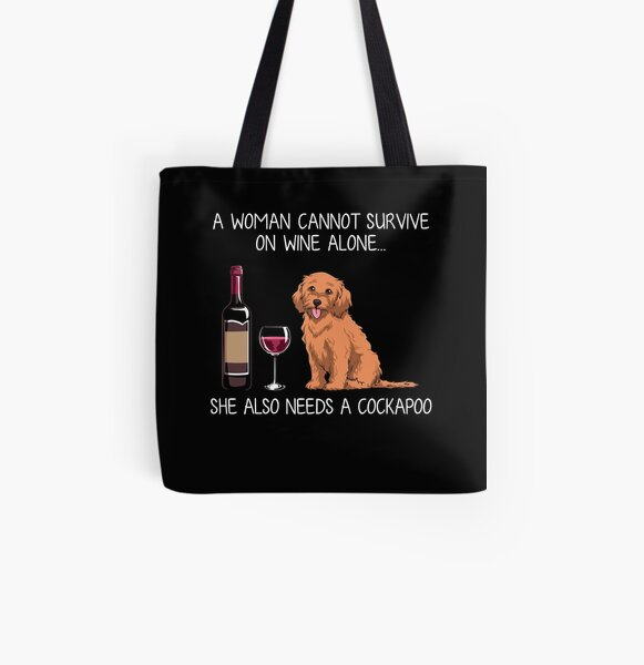 Canvas Shopping Tote Bag Dad Kromfohrlander Dog Kromfohrlander Beach Bags for Women