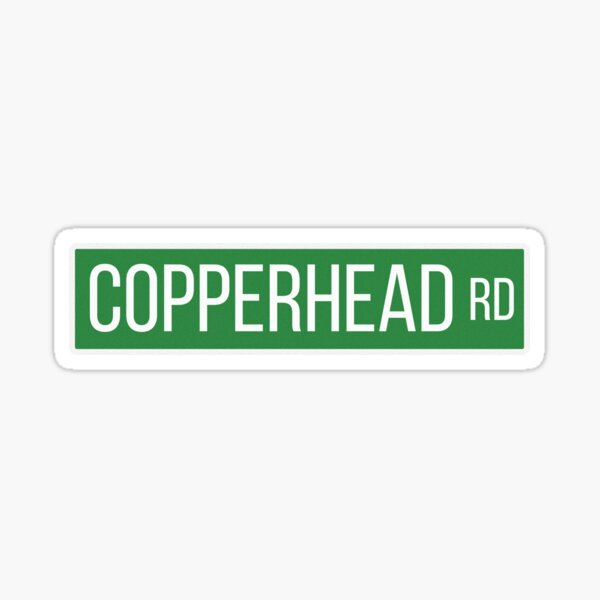 Copperhead Rd Sticker