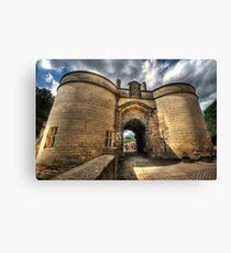 Nottingham Castle Canvas Print