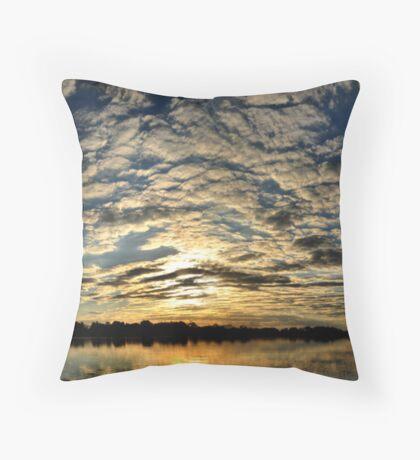 Okavango Delta Sunset - Botswana #2 Throw Pillow
