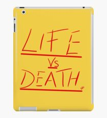Life vs Death iPad Case/Skin