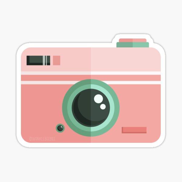 Vintage Camera: Candy Shop Sticker