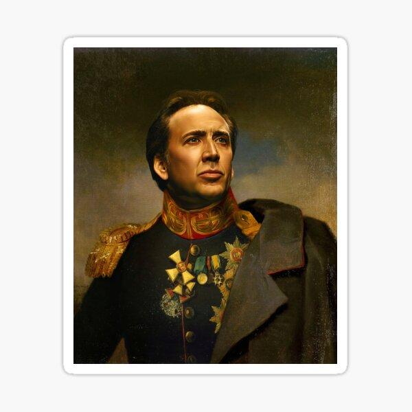 Nicolas Cage - replaceface Sticker