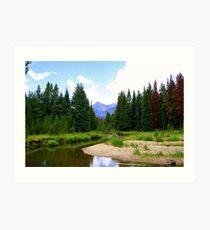 Colorado View Art Print
