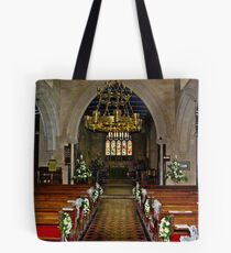 Slingsby Church Interior Tote Bag