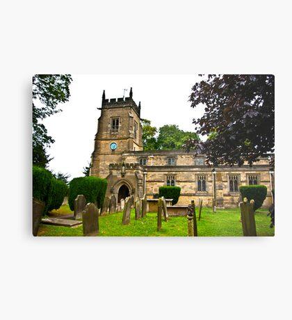 Slingsby Church  Metal Print