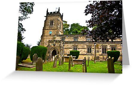 Slingsby Church  by Trevor Kersley