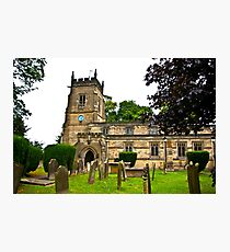 Slingsby Church  Photographic Print