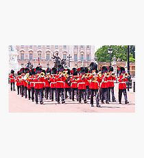 London Marching Band Photographic Print
