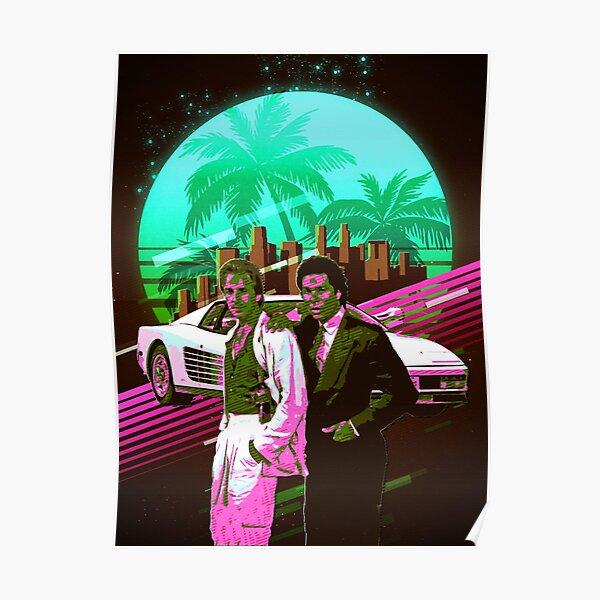 Miami Vice retro Poster