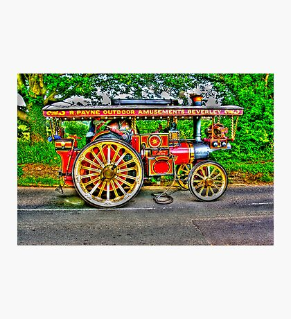 Steam Traction Engine #1 HDR Photographic Print