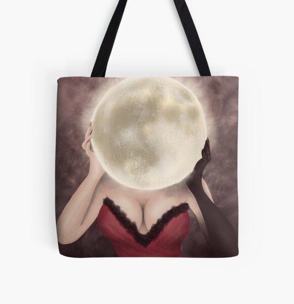 Moon Madam All Over Print Tote Bag