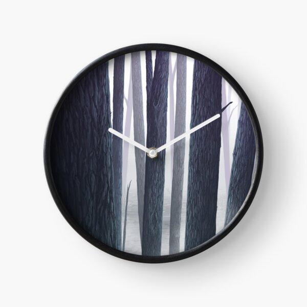 Purple Woods Clock