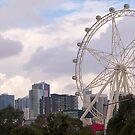 Melbourne Wheel, From Bolte Bridge. Victoria. Australia. by johnrf