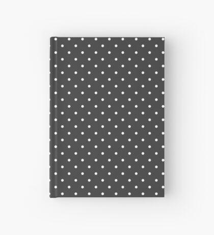 Carbón de leña punteado Cuaderno de tapa dura