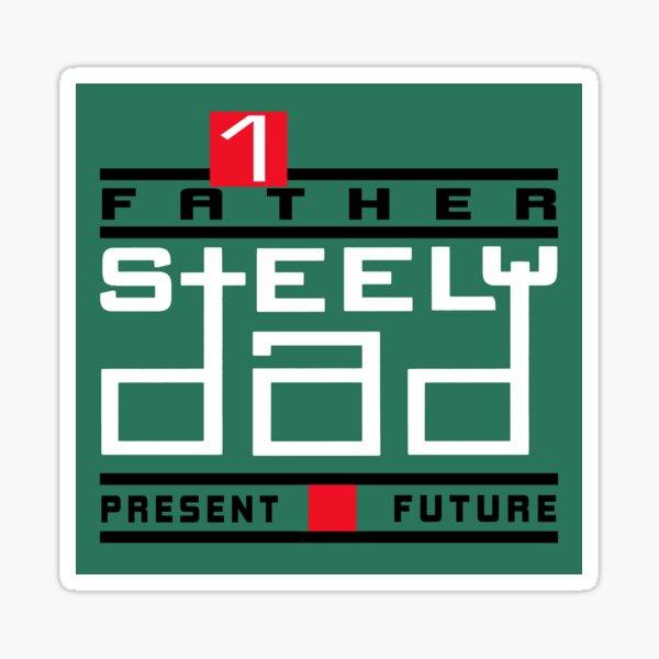 Steely Dad Sticker