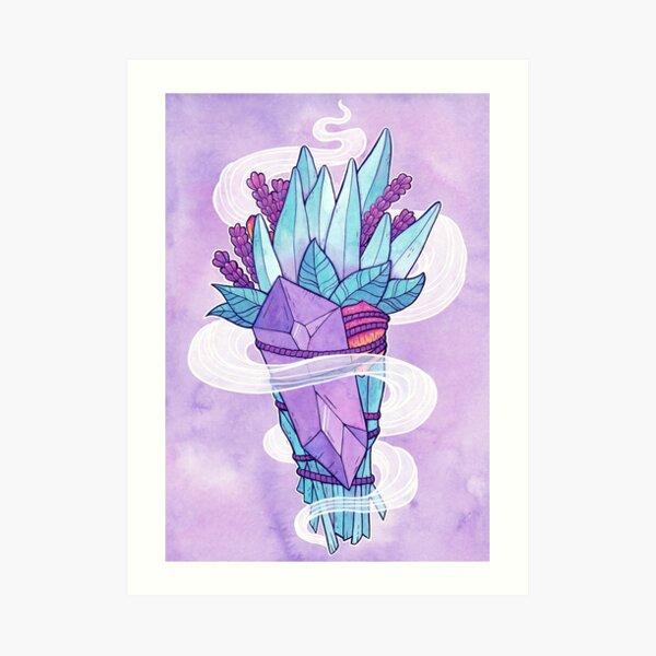 Smudge Magick | Nikury Art Print