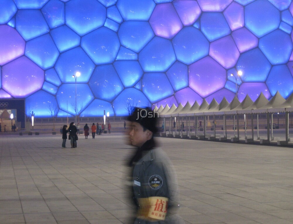 Guard The Water Cube by j0sh
