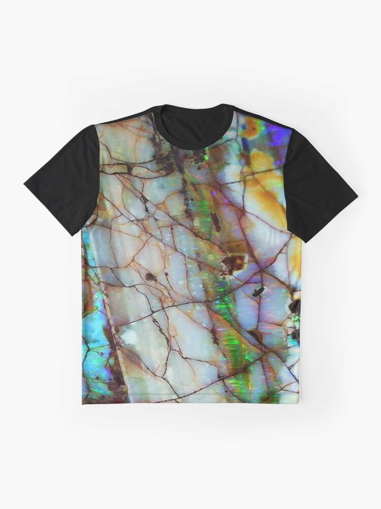 Alternative Ansicht von Opaleske Grafik T-Shirt