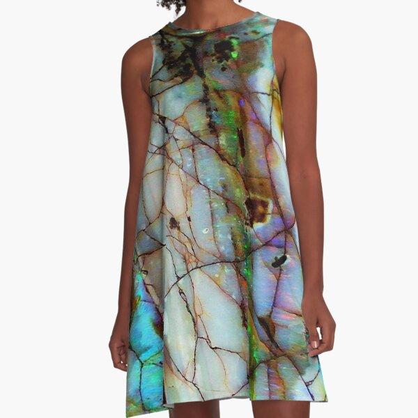 Opalesque A-Line Dress