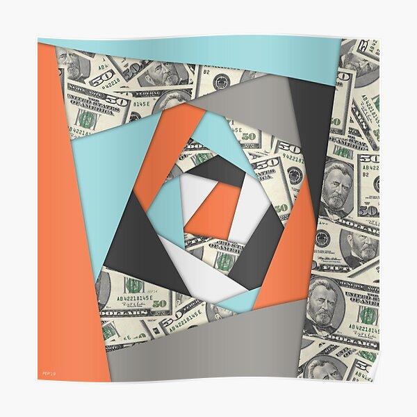 Layered Money Poster
