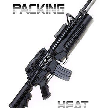 I'm packing heat! by skitch1