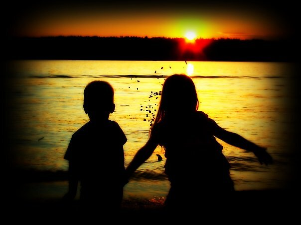 Sunset Beach by modelofoddness