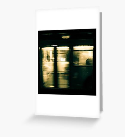 Life in motion Greeting Card