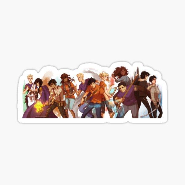 percy jackson-Heroes of Olympus Sticker