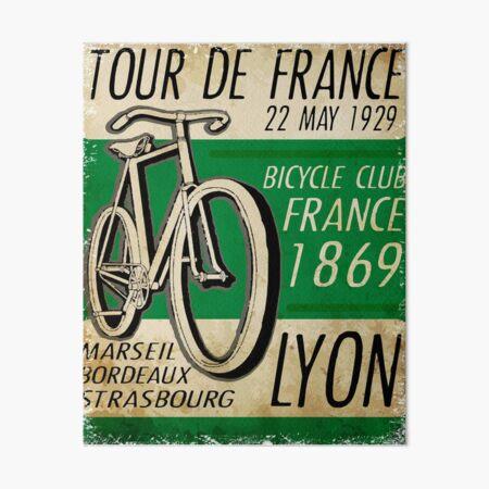 Bicycle Tour de France Art Board Print