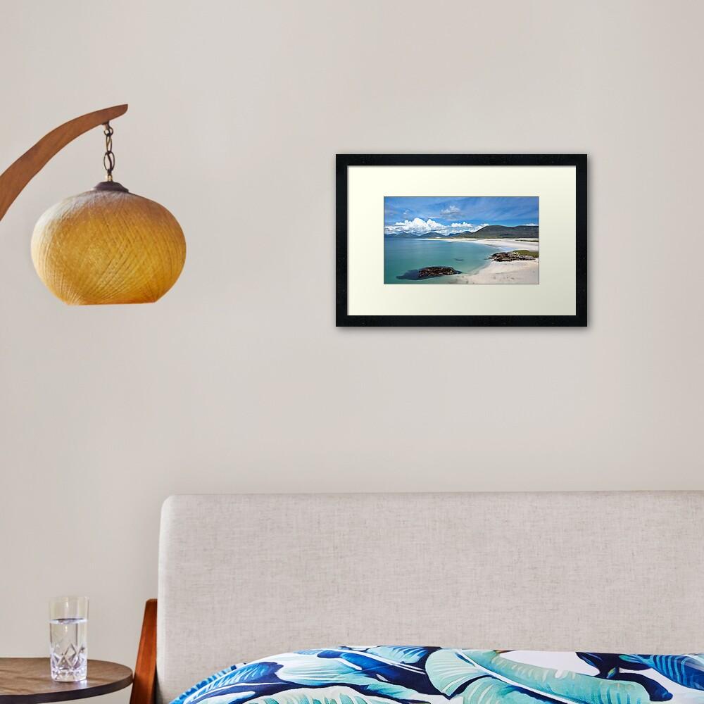 Isle of Harris (Luskentyre Beach) Framed Art Print