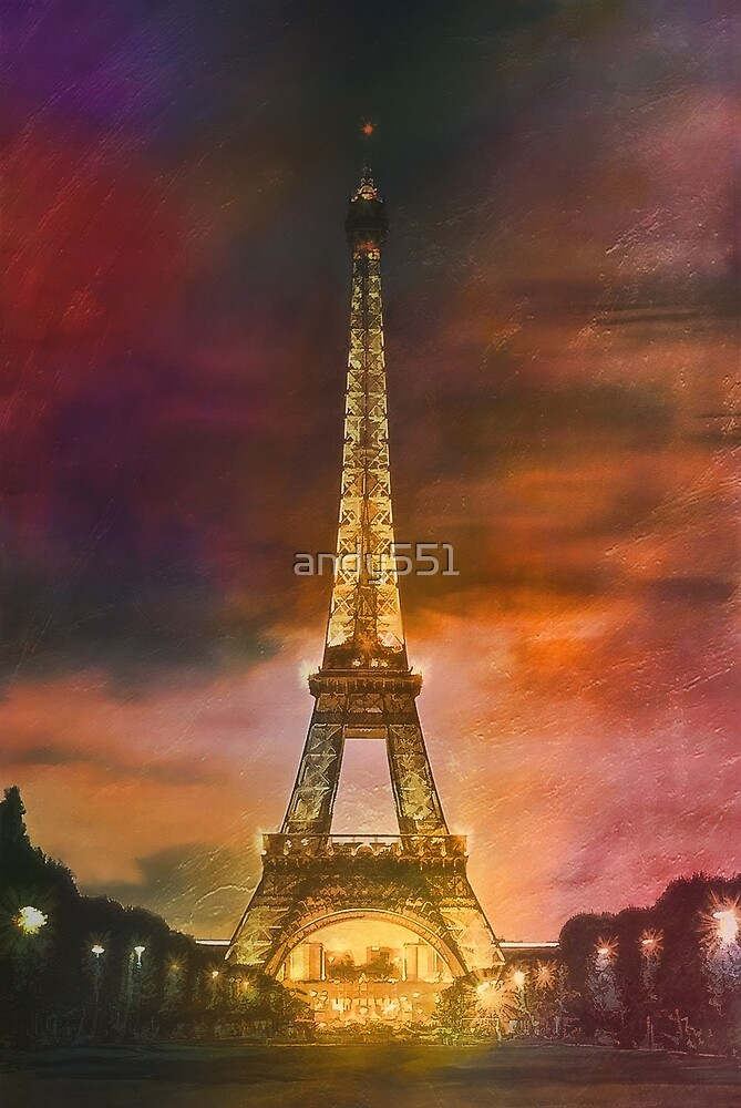The Eiffel Tower by andy551