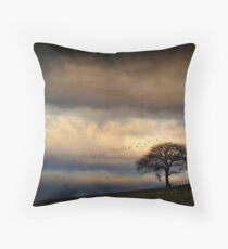 Texture Landscape Throw Pillow