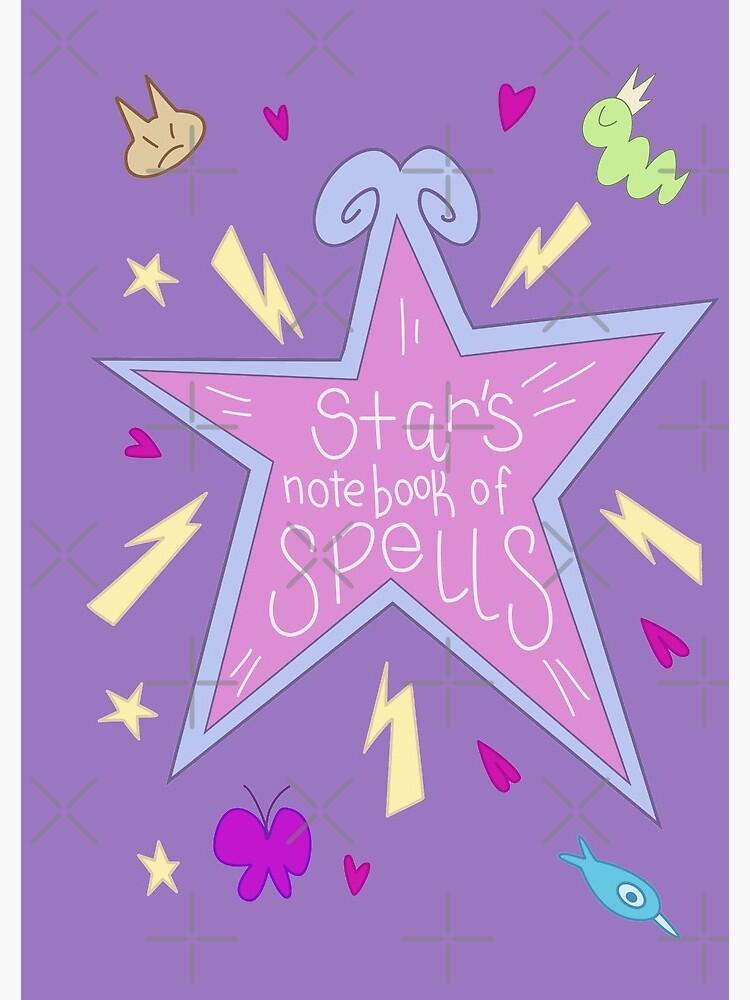 Star's notebook of Spells - Star vs FOE by Sharkanakronism