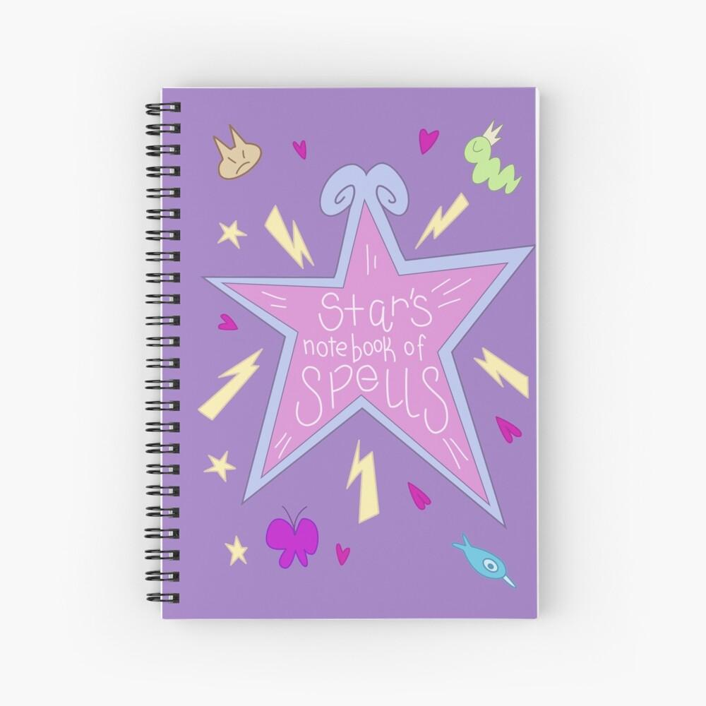 Star's notebook of Spells - Star vs FOE Spiral Notebook