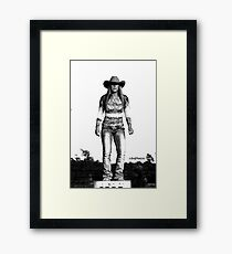 She's Tough Framed Print