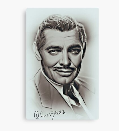 Clark Gable Canvas Print