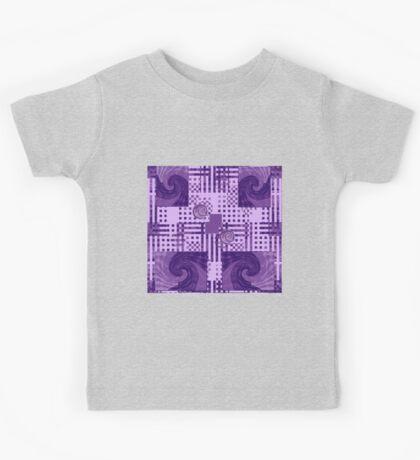 Passionately Purple Pattern Kids Clothes